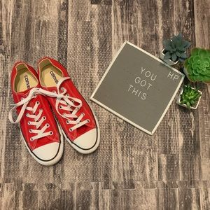 Red Converse All Star Classics Sneakers